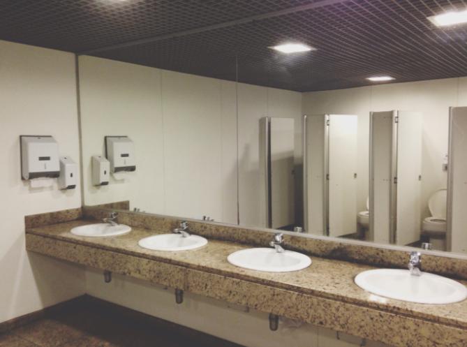 SA Security Group_Bathroom scene